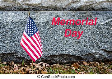 American Flag in honor of Memorial Day.