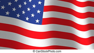 American flag of USA