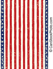 American flag poster grunge