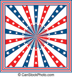 American flag background with stars and stripes symbolizing 4th of july independence day