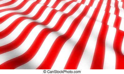 American Flag Wave Loop