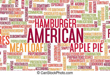 American Food Menu