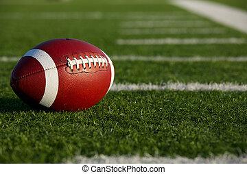 American Football amongst the Yard Lines - American Football...