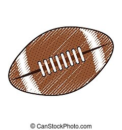 american football ball icon image