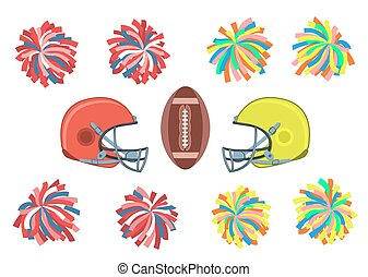 American football collection.