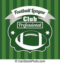 american football design