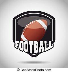 american football design - american football ball sport...