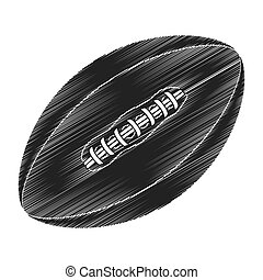 american football emblem icon