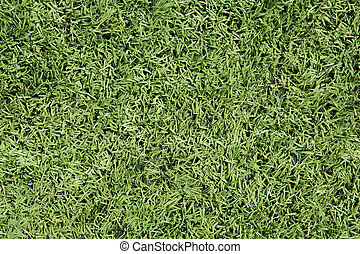 American Football Field Astro Turf Close Up