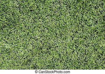 American Football Field Astro Turf Close Up