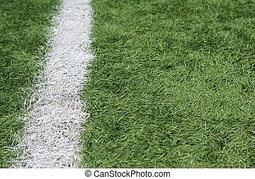 American Football Field Yard Line