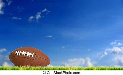 american football - football ball