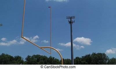 football field goal post