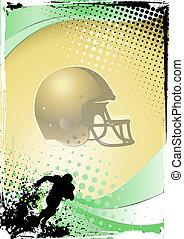 illustration of the helmet