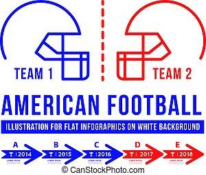 American football is the history of meetings.