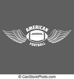 american football logo labels - American football label,...