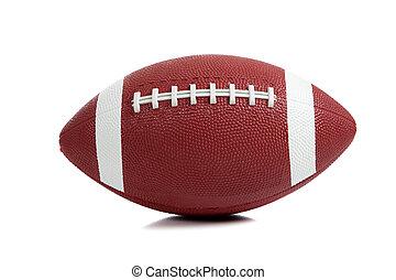 American Football on white