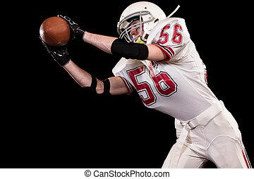 American Football Player - American football player. Studio...