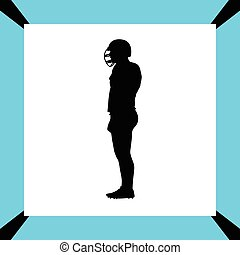 american football player