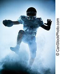 american football player silhouette