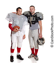American football players.