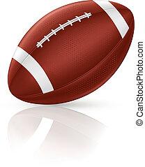 American Football, vector