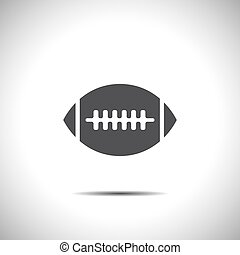 american football vector icon