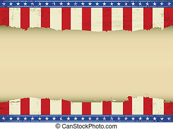 American horizontal background - An horizontal american...