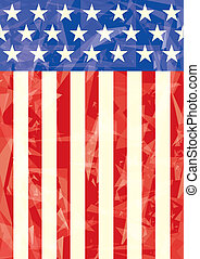 American icy flag