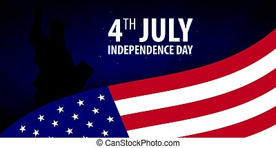 american independence day 4th july template background for