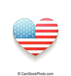 american independence day heart