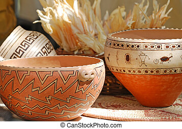 American Indian Pottery - Beautifully crafted indian...