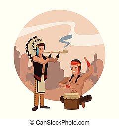 American indian ritual