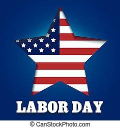 Labor Day Emblem