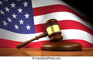 American Law Concept