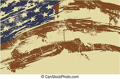 american lobogó, háttér