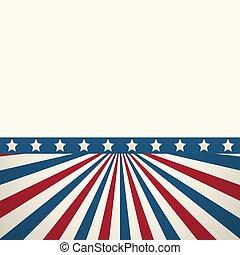 american lobogó, hazafias, háttér