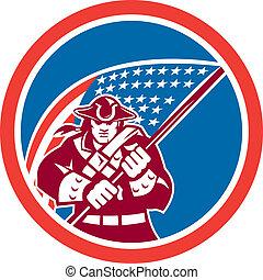 american lobogó, karika, birtok, patrióta
