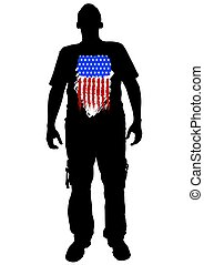 American man one
