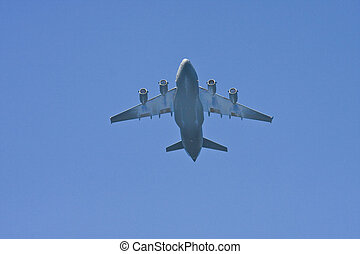 American Military Transport Plane