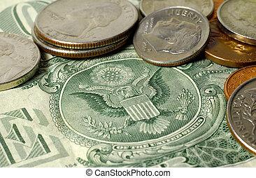 Dollar Bill and Change