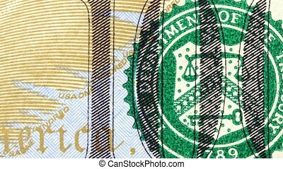 American money hundred dollar bill