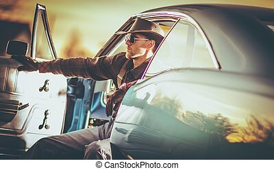 American Muscle Car Driver