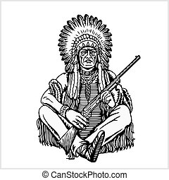 American native chief