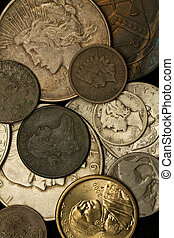 American New and Vintage Coins - New and vintage us coins...