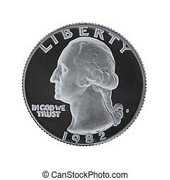 American one quarter coin i