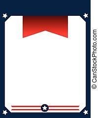 American patriotic poster design