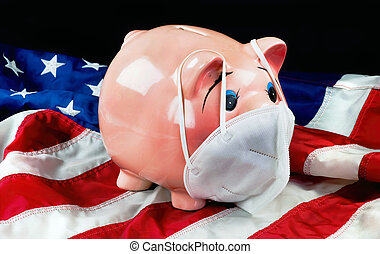 American Piggy Banks Cancelled by Virus.