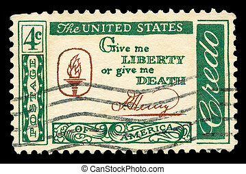 American post stamp