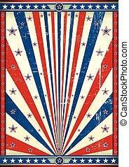 American poster grunge